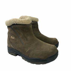 Sorel Waterfall Low Boots Side Zip Size 8